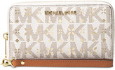 MICHAEL Michael Kors Signature Jet Set Travel Large Flat Multifunction Phone Case