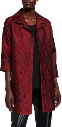 Caroline Rose Rose Cloque Party Jacket