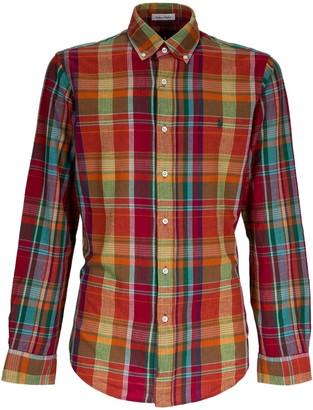 Ralph Lauren Logo Checked Shirt