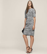 Reiss New Collection Harry Knitted Short Sleeved Dress