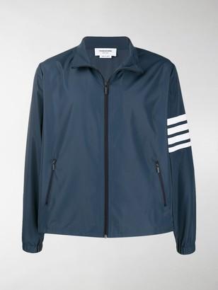 Thom Browne Funnel Neck Zip-Up Jacket