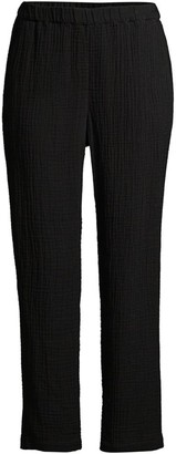 Eileen Fisher Organic Cotton Cropped Pants