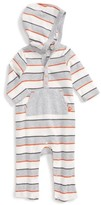 Offspring Infant Boy's Safari Hooded Romper