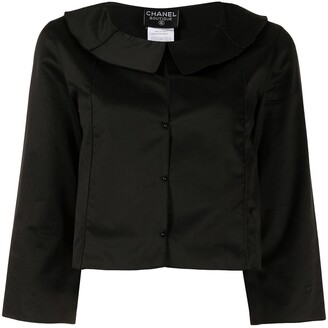 1999 Cropped Single-Breasted Jacket