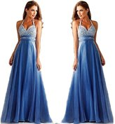 Comprame Women Long Sexy Evening Party Ball Prom Gown Formal Bridesmaid Cocktail Dress