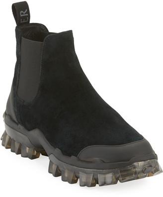 Moncler Hayden Chelsea Leather Boots