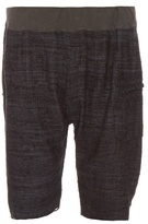 Longjourney Plaid Silk Shorts