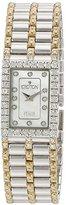 Croton Women's CN207536TTMP Analog Display Quartz Two Tone Watch