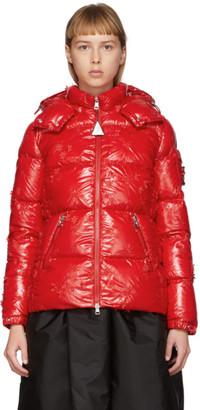MONCLER GENIUS 4 Moncler Simone Rocha Red Callitris Down Jacket