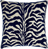 Elaine Smith Marine Zebra-Print Outdoor Pillow