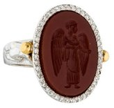 Gurhan Antiquities Intaglio Diamond Ring