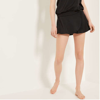Joe Fresh Women's Swim Skirt, Black (Size M)