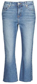 Tommy Jeans KATIE CROP FLARE women's Jeans in Blue