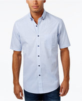 Club Room Men's Big and Tall Turtle-Print Cotton Shirt, Only at Macy's