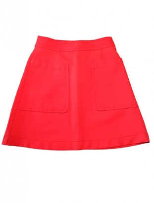 Marc by Marc Jacobs Orange Polyester Skirts