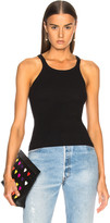 RE/DONE HANES Ribbed Tank Top