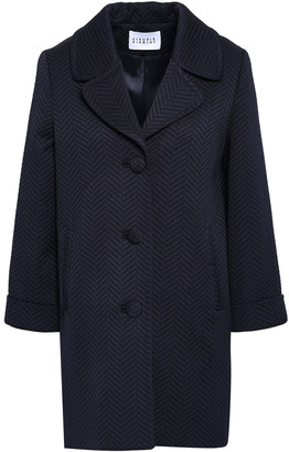 Claudie Pierlot Textured Woven Coat