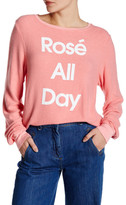 Wildfox Couture Rose All Day Pullover