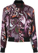 Versace Baroccoflage bomber jacket