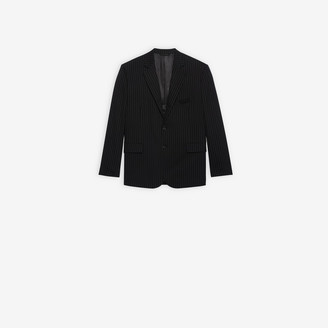 Balenciaga Washed Single Breasted Jacket