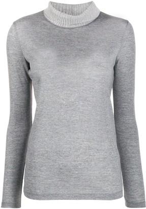 Fabiana Filippi turtleneck knit sweater