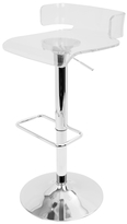 Lumisource Pride Adjustable Barstool