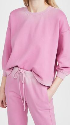 Velvet Ombre Sweatshirt