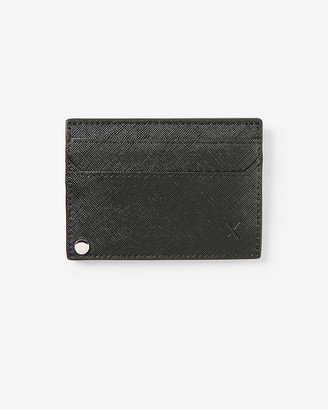 Express Slim Textured Card Case Wallet