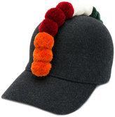 Comme des Garcons pom-pom detailed hat