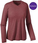 Patagonia Women's Long-Sleeved Merino Daily V-Neck T-Shirt