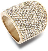 Charter Club Ring, Gold Tone Pave Ring
