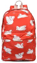 Stella McCartney bang red swan backpack