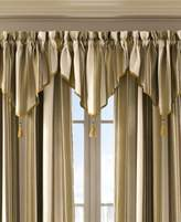 "J Queen New York Queen Street Jasper Stripe 40"" x 21"" Rod Pocket Ascot Valance"