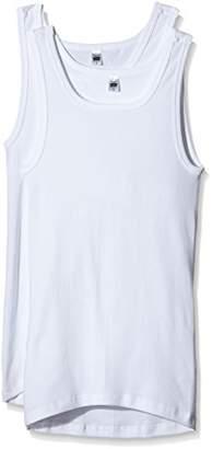 Trigema Men's Vest White Weiß (weiss 001)
