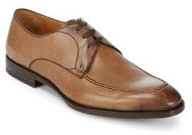 Canali Lace-Up Leather Oxfords