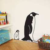 STUDY Little Yellow Birds Penguin And Son Wall Sticker