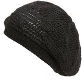 Hinge Women's Knit Beret - Black