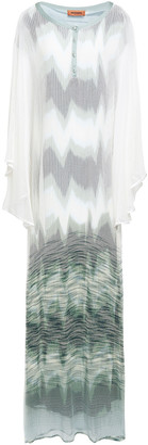 Missoni Degrade Open-knit Maxi Dress