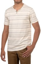 Lucky Brand Button Notch T-Shirt - Short Sleeve (For Men)
