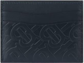 Burberry Leather Monogram Card Holder