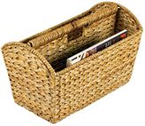 Household Essentials Wicker Magazine Rack