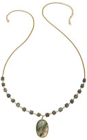 Heather Hawkins Faceted Labradorite Necklace