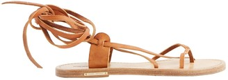 Etoile Isabel Marant Brown Leather Sandals
