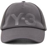 Yohji Yamamoto Trucker Cap in Gray.