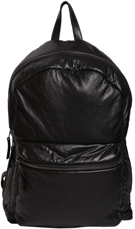 Giorgio Brato Soft Nappa Leather Backpack