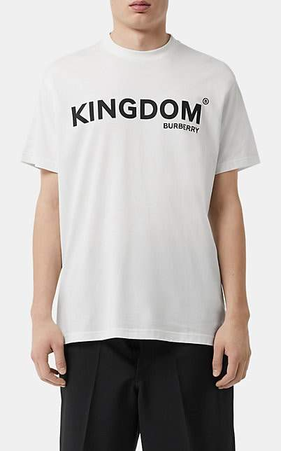 a2a5cf4fa Men Burberry Crew White Shirt - ShopStyle