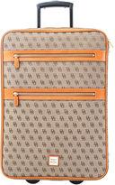 Dooney & Bourke Signature Rolling Suitcase