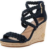Tory Burch Bailey Braided Wedge Sandal