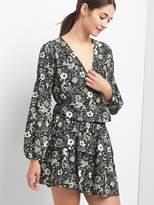 Gap Floral smock-waist dress