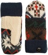 Muk Luks Winter Lodge Pot Holder Mittens - Faux-Fur Lined (For Women)